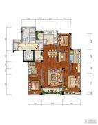 合肥当代MOMΛ3室2厅2卫143平方米户型图