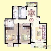 虹桥1号2室2厅2卫0平方米户型图