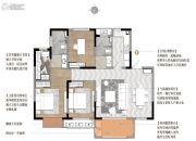澄湖壹号院3室2厅2卫122平方米户型图