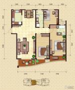 金梦海湾1号3室2厅2卫179平方米户型图