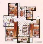 爱家皇家花园3室2厅2卫143平方米户型图