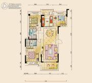 碧桂园公园壹号3室2厅2卫121平方米户型图