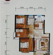 鸿飞逸景3室2厅1卫0平方米户型图
