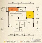 星湖名郡2室2厅1卫80--150平方米户型图