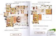香江帝景6室2厅4卫220平方米户型图