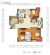 中国电建・湘熙水郡4室2厅2卫165平方米户型图