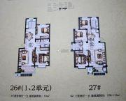 舜天嘉园3室2厅1卫91--112平方米户型图
