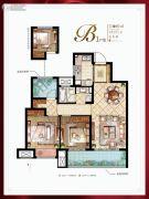 新城十里锦绣3室2厅1卫97平方米户型图