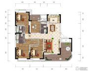 江南URD4室2厅2卫170平方米户型图