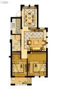 金地家园・公寓2室2厅1卫89平方米户型图