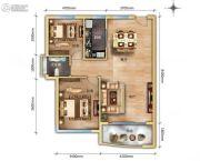 鼎欣嘉豪3室2厅1卫0平方米户型图