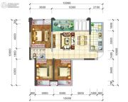 阳光西雅图3室2厅1卫108平方米户型图