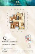 彰泰・金桥水岸4室2厅2卫113--137平方米户型图