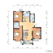 米苏阳光3室2厅2卫113平方米户型图
