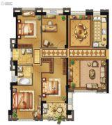 长乐阳光城翡丽湾4室2厅2卫142平方米户型图