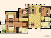 天齐・奥东花园4室2厅2卫142平方米户型图
