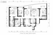 龙湖世纪峰景4室2厅2卫190平方米户型图