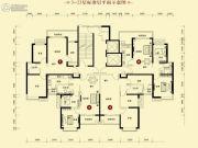 恒大御景半岛2室2厅1卫91平方米户型图