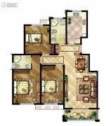 中国铁建原香漫谷3室2厅1卫0平方米户型图
