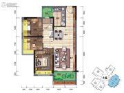 碧桂园・翡翠郡(肇庆大旺)3室2厅1卫89平方米户型图