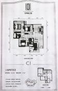 寅吾伊顿公馆3室2厅2卫86--100平方米户型图