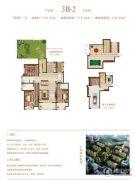 荣邦城3室2厅3卫316平方米户型图