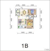 滨江观邸・纯水岸2室2厅1卫0平方米户型图