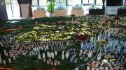 中铁国际生态城白晶谷沙盘图