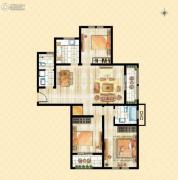 香溪左岸3室2厅2卫0平方米户型图