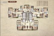 兴业家园3室2厅2卫114平方米户型图