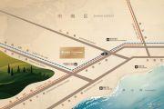 青岛华润中心悦玺交通图