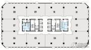 高新时代广场158--240平方米户型图
