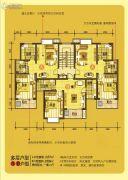 凤凰湖1室2厅1卫56--57平方米户型图
