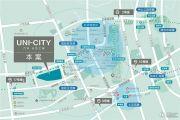 万科天空之城交通图