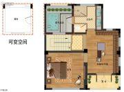 九龙仓君廷175平方米户型图