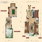 融城7英里3室2厅2卫124平方米户型图