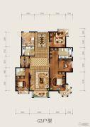 北京城建・琨廷3室2厅2卫173--176平方米户型图