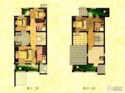 塞维亚香泉丽榭4室2厅4卫310平方米户型图