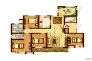 景诗雅苑4室2厅2卫181平方米户型图