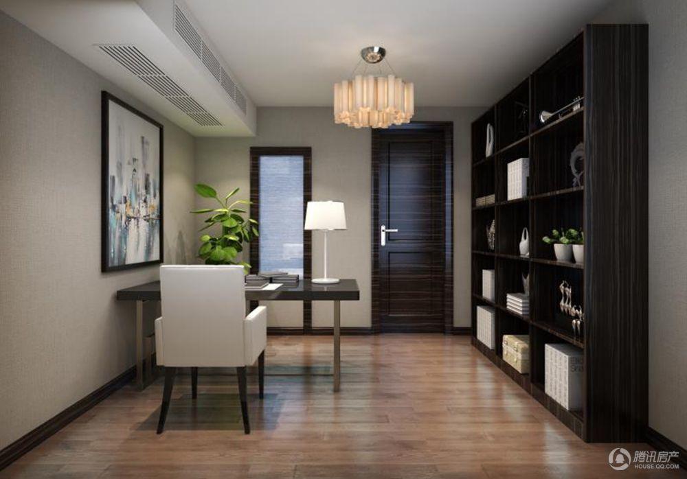 恒隆国际公寓效果图-1512书房