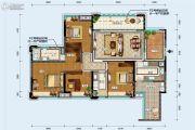 中德英伦联邦4室2厅2卫133--136平方米户型图