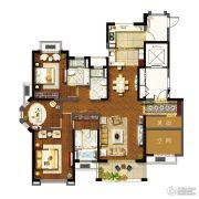 象屿两岸贸易中心4室2厅3卫187平方米户型图