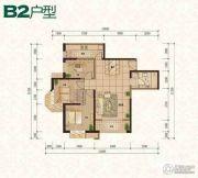 普天格兰绿都3室2厅1卫112平方米户型图