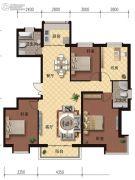 海德堡庄园4室2厅2卫140平方米户型图