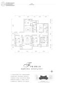 富力湾4室2厅2卫156平方米户型图