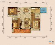 半山�庭3室2厅2卫139平方米户型图