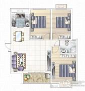 九龙城1室1厅1卫0平方米户型图