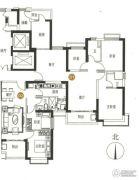 海陵岛恒大御景湾3室2厅2卫81--128平方米户型图