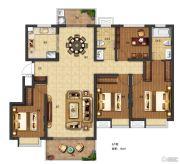 电建�吃酶�4室2厅2卫136平方米户型图