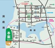 洞庭湖国际公馆交通图